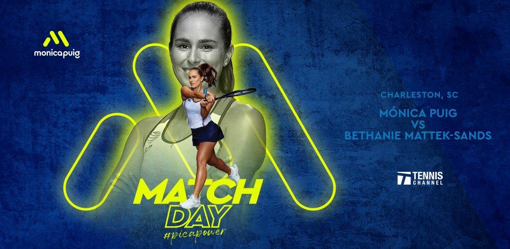 MATCH DAY! Tune in @TennisChannel today 🎾 #PicaPower https://t.co/E0SXEznM26