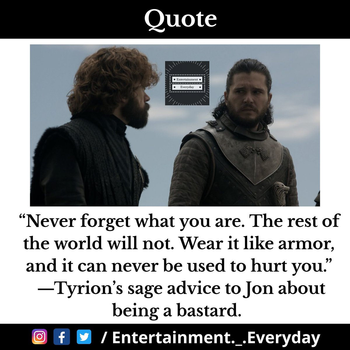 Tag #GameofThrones fans and share it with your friends. Follow our page for more posts like this. #entertainment #entertainment_everyday #GameOfThronesSeason9 #EmiliaClarke #JonSnow #SophieTurner #DaenerysTargaryen #forthethrone #cerseilannister #jaimelannister #winterfell #HBO https://t.co/DYlPc5dR9L
