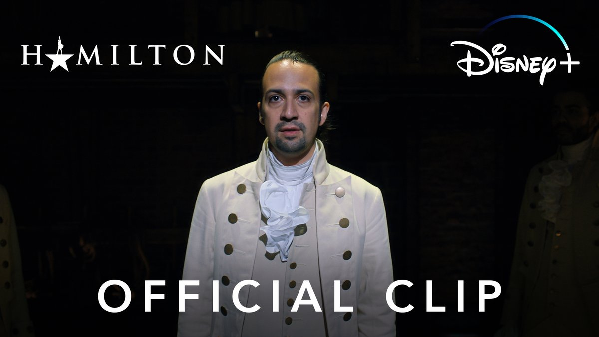 Check out this brand-new clip from the opening number of Hamilton, streaming exclusively on #DisneyPlus July 3. ⭐️🎥 #Hamilfilm