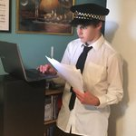 4th Form pupil and @keswdrama scholar, Felix, will star as PC Stumps in the Peaslake Players Murder Mystery Play this Friday evening via Zoom - get your ticket here https://t.co/ri5T7GTUcQ. Read more https://t.co/7qSDqGlYsA #drama #play #acting