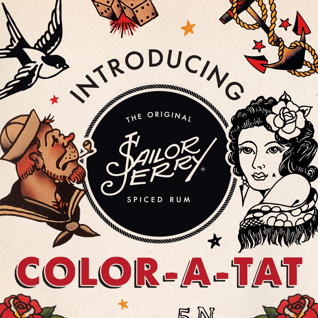Sailor Jerry On Twitter Yeah We Know You Re Bored Kill Some Time With The Brand New Sailor Jerry Digital Coloring Book Customize This Flash And You Ll Be An Honorary Sj Apprentice Https T Co Dkh7dcvazq Https T Co 3iwm9ovqep