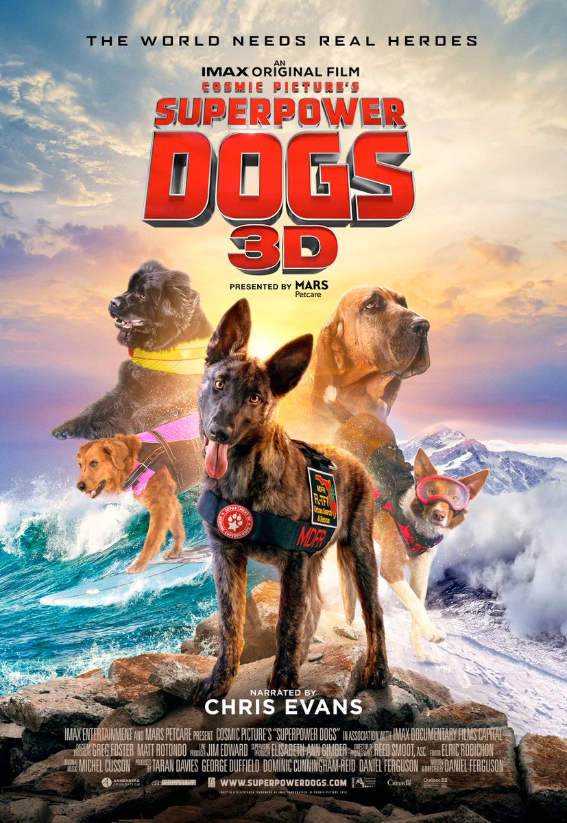 Your favorite documentaries are back starting this Friday, June 26! Volcanoes 3D, Superpower Dogs 3D, Hubble 3D and many more. Full schedule on our website: https://t.co/gO2BbWLQqR https://t.co/DJMKROe973