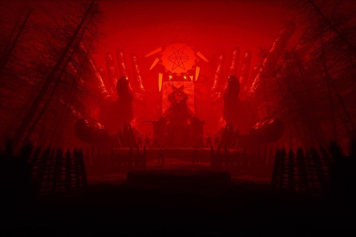 The devil is alive. Tomorrow. #doomwoods https://t.co/RvKl6b6mjB