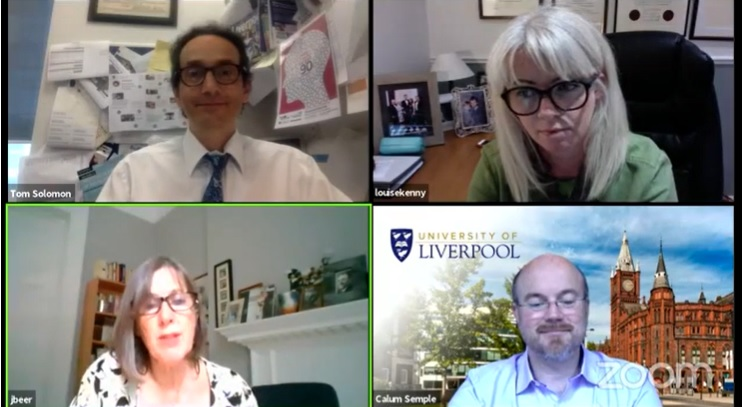 Did you miss our inaugural Liverpool Responds event last week with some of our top #LivUniCovid scientists? You can still find it here: liverpool.ac.uk/coronavirus/ev… Catch our next event, Liverpool Responds: Football in Focus, on 1 July. Sign up info coming soon! #TeamLivUni #ICYMI