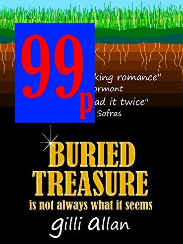 #bargain Ahead of its launch into paperback and the Cover-Reveal, BURIED TREASURE is reduced to a never to be seen again bargain price of #99p  #love #Archaeology #mystery #secrets #history #abuse #womenslit