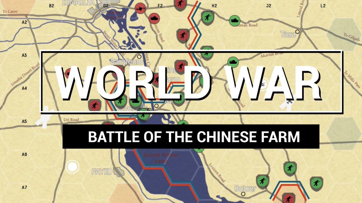 Wir stellen ein weiteres #WorldWarMode-Szenario vor: Schlacht bei der chinesischen Farm. Eine Schlacht zwischen den israelischen Verteidigern und der ägyptischen Armee, die als die massivste Panzerschlacht seit dem 2. Weltkrieg in die Geschichte einging - https://t.co/NZj2dm7xma https://t.co/rHMtSkfHQE