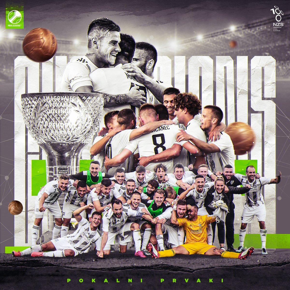 ⚫⚪ @nsmura_ms je pokalni prvak! Čestitamo!  #PokalSLO 🏆 https://t.co/Nm91MZN9xu