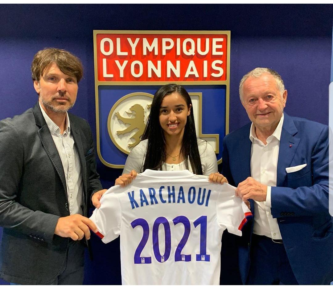 Très heureuse de rejoindre l'olympique lyonnais !! 🔴🔵🦁 #nouveaudepart https://t.co/DPVSEA86zJ