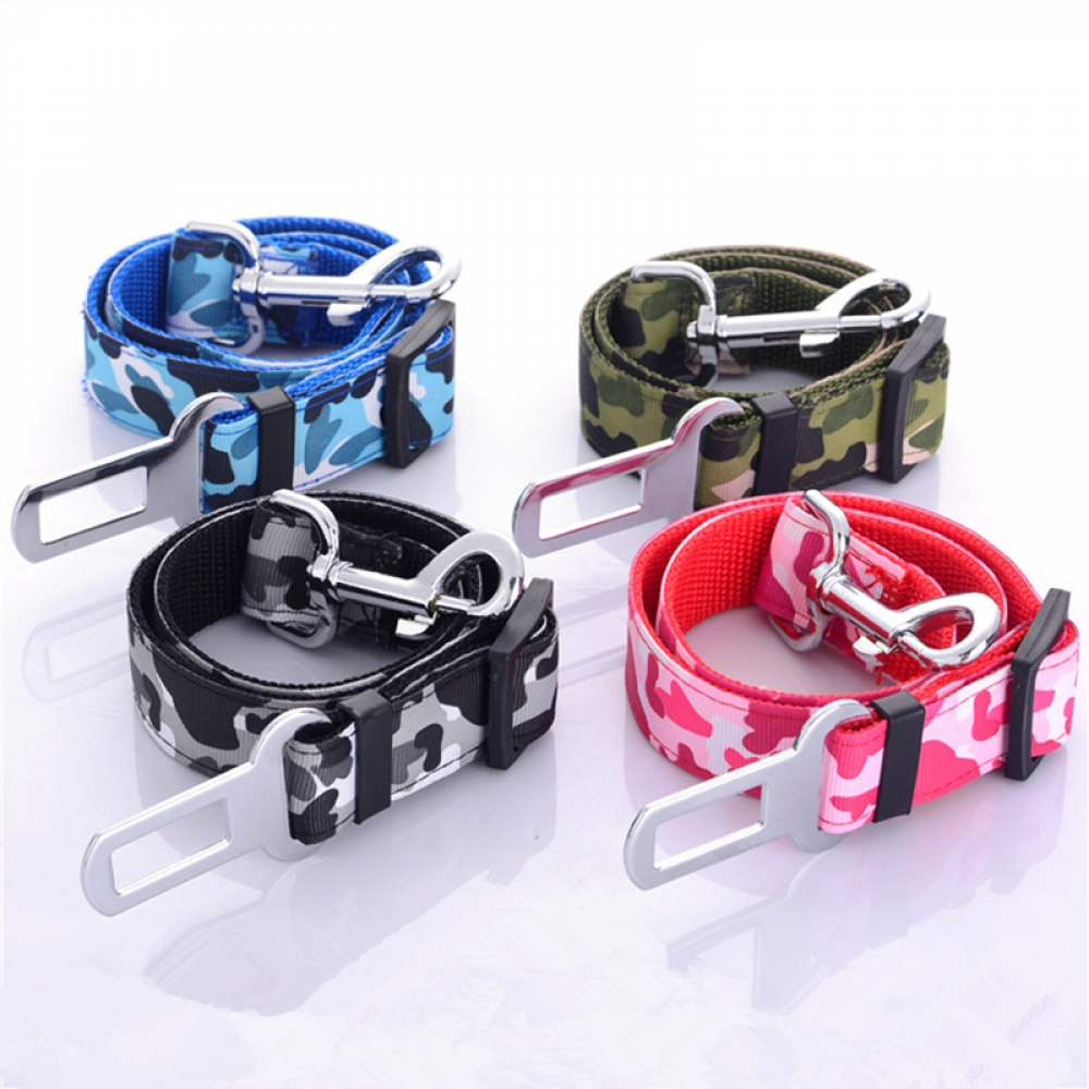 #vacation #neverstopexploring Camouflage Pet Safety Seat Belt Harness pic.twitter.com/rV9GWhG3Ll