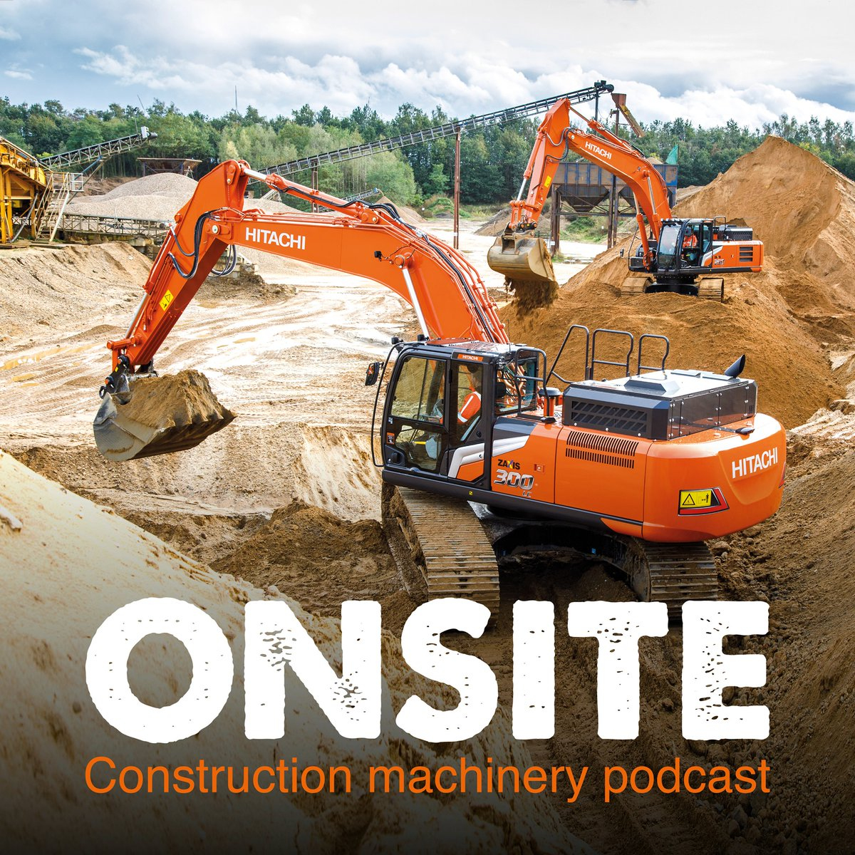 Listen to all four episodes of our new podcast Onsite – the construction machinery podcast on your favourite platforms by subscribing here: https://t.co/vi5TjCK1HG. https://t.co/x1oyH4W18E