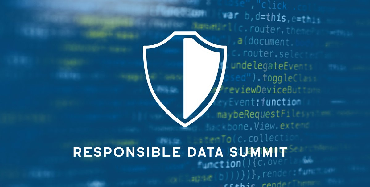 📢📢📢 Announcing the Responsible Data Summit. A Multi-Track Virtual Series with the leading voices in AI, Data Privacy, and Data Rights.   Sign up today at https://t.co/aZT3b1HgHZ and join us for our first discussion on July 14 focused on COVID-19 and Responsible Data Use. https://t.co/l1NLk4xRUV