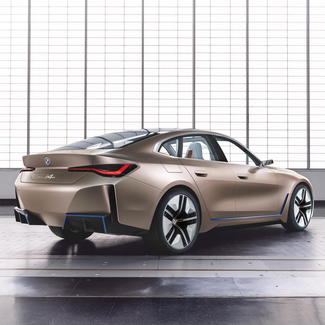 THE i4. Elektryzująco sportowy. BMW concept i4. Pierwsze w pełni elektryczne Gran Coupé. Już wkrótce.  #THEi4 #BMW #i4 https://t.co/mVxlPBDRpd