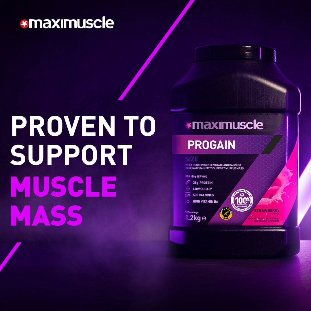 Protect your PRO𝐆𝐀𝐈𝐍𝐒! 🛡   Increased protein content per serving, superior BCAA content and added Vitamin B6, more calories but less sugar than the old formulation..   📲 Click the link below and grab yours now!  https://t.co/RgMc69SVmd  #PROGAIN https://t.co/5u18J3Ngri