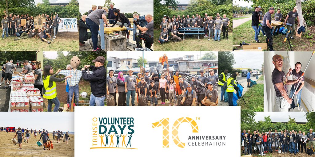 Our #Volunteer Days may look a little differently this year, but the intention remains the same. Across the globe, #TrinseoVolunteers have been coming together to give back for the past 10 years. https://t.co/mmp8Kg7R7D