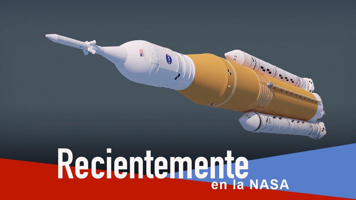 Recientemente en la NASA: 🚀 Los propulsores de @NASA_SLS llegaron a @NASAKennedy para #Artemis I. 🔴 Empieza la cuenta atrás a Marte para @NASAPersevere. ✈️ @NASAAero avanza en la búsqueda del vuelo supersónico silencioso. Estas historias y más: go.nasa.gov/2YrVBvg