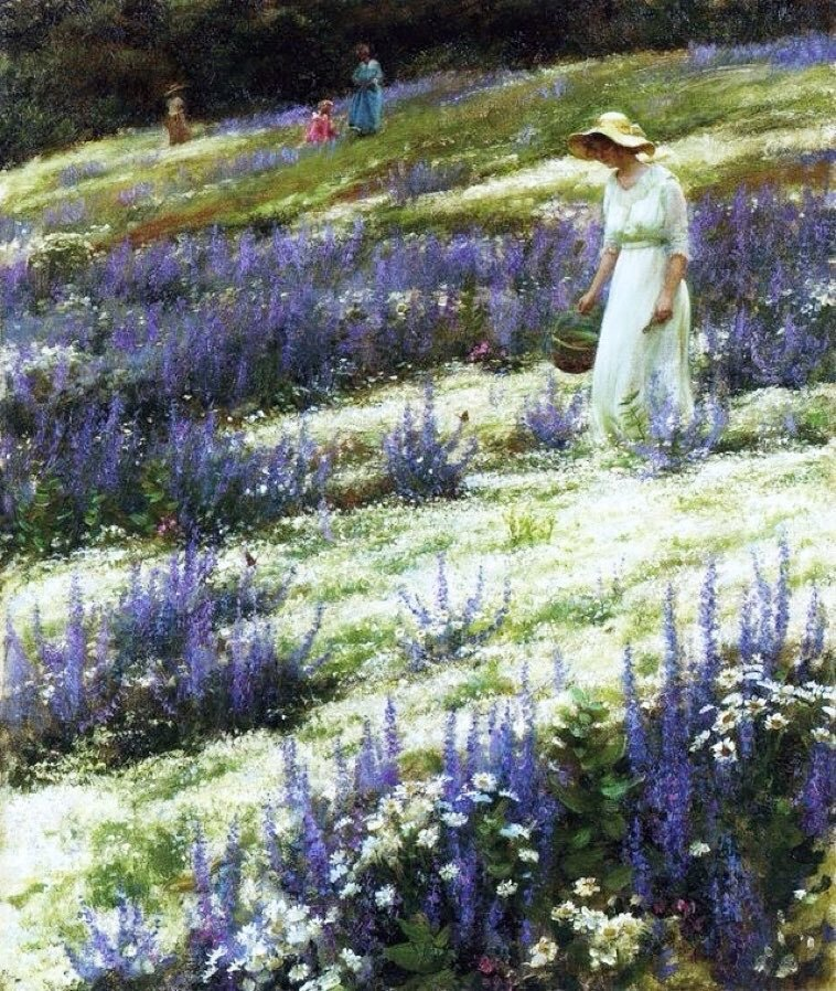 Charles Courtney Curran (13 February 1861 – 9 November 1942) was an American painter. He is best known for his canvases depicting women in various settings.