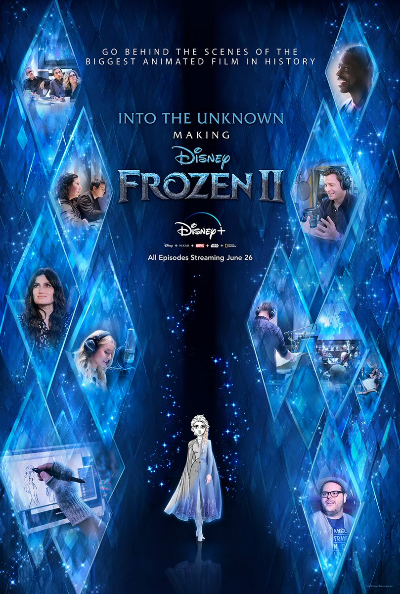 Upcoming Disney+ releases featuring Jonathan Groff: ❄️ #IntoTheUnknown: Making #Frozen2 (June 26) ⭐️ #Hamilfilm (July 3)