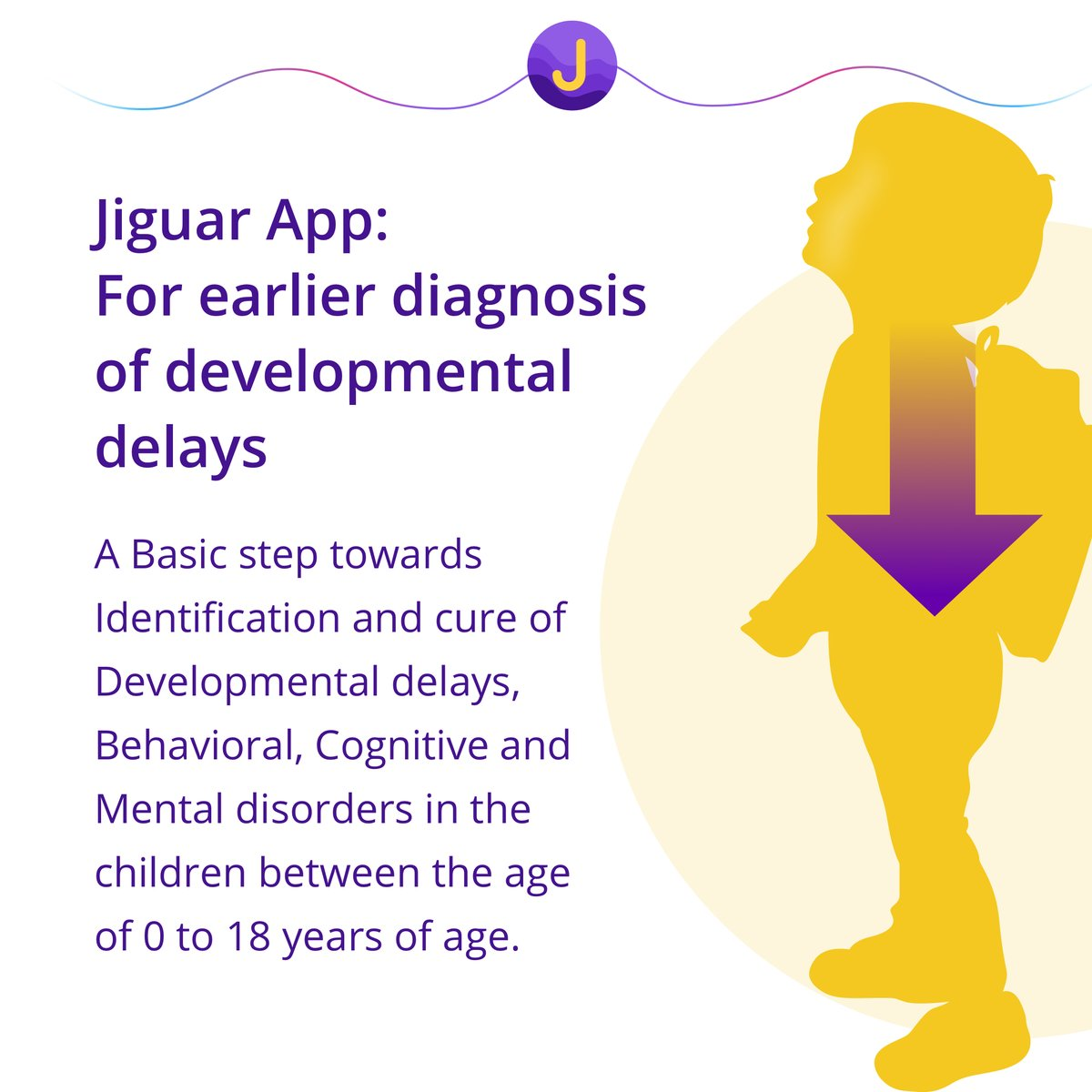 Jiguar App: For earlier diagnosis of developmental delays.  https://jiguar.com  #childmonitoringapp #developmentalmilestones #behaviortherapy #childbehavior #speechtherapy #developmentaldelays #autismawareness #autismspeaks #autism @JiguarIncpic.twitter.com/FVTvnc4pas