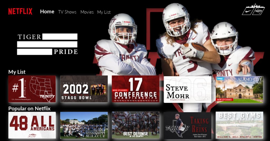 Check out what's happening at Trinity University Football #BeTheStandard