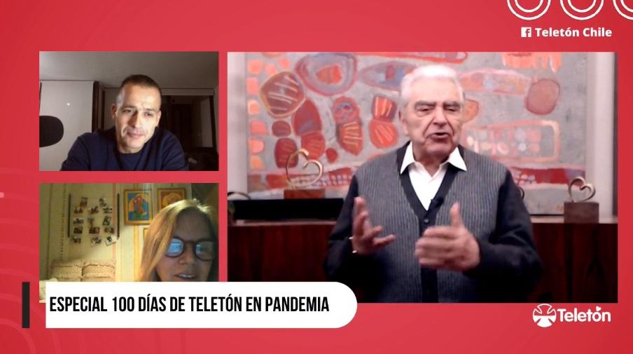 "📲 EN VIVO   Ximena Casarejos, Directora Ejecutiva de #Teletón y @DonFranciscoTV conversan en este Especial ""100 días de Teletón en Pandemia""   Conéctate: https://t.co/CDYVFNKDra https://t.co/pZGy1FBm9c"