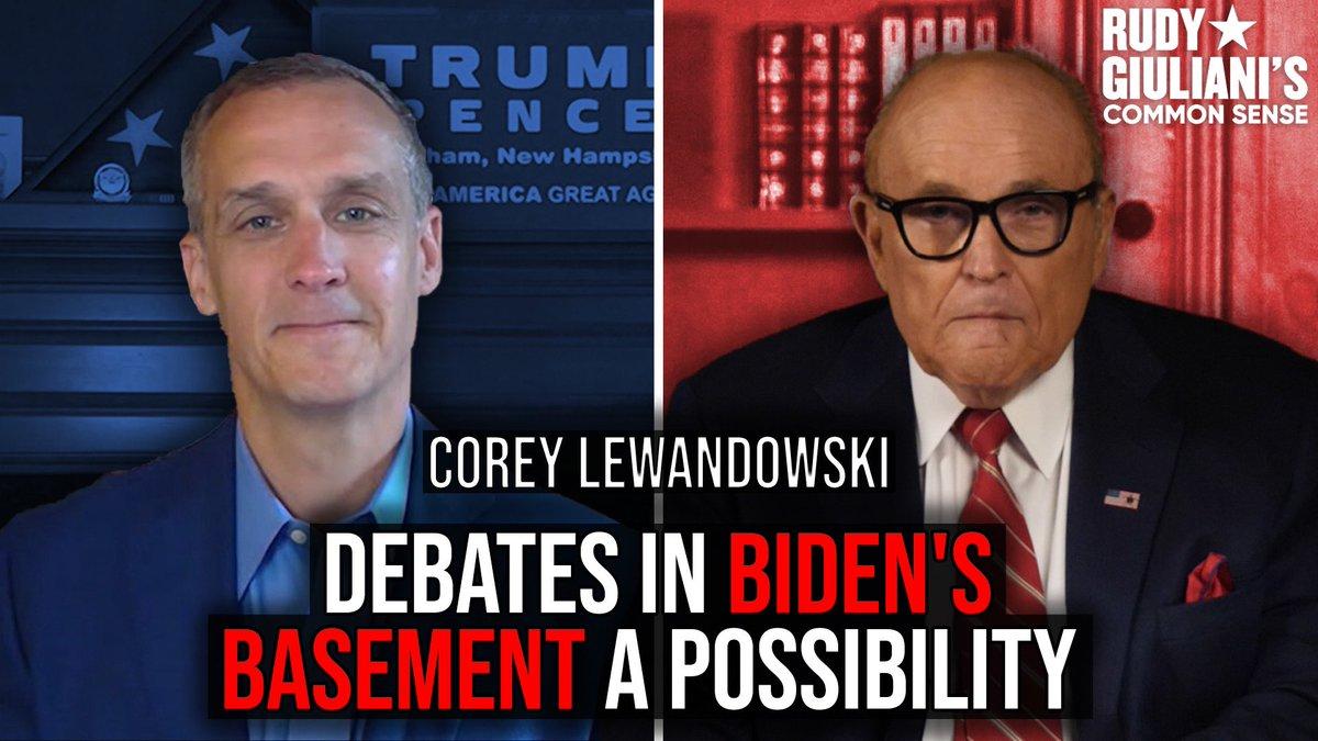 Debates in Dividin' Joe Biden's BASEMENT a possibility Must watch with @CLewandowski_: youtu.be/Vhzt1Hg4ayQ