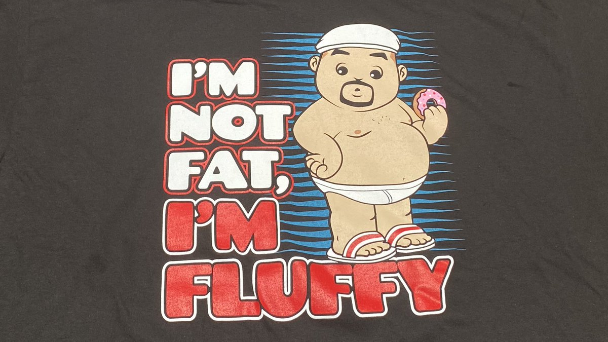 RT 4 ur chance to WIN a this FLUFFY t-shirt from FluffyGuy.com 😁 #GabrielIglesias 🍩