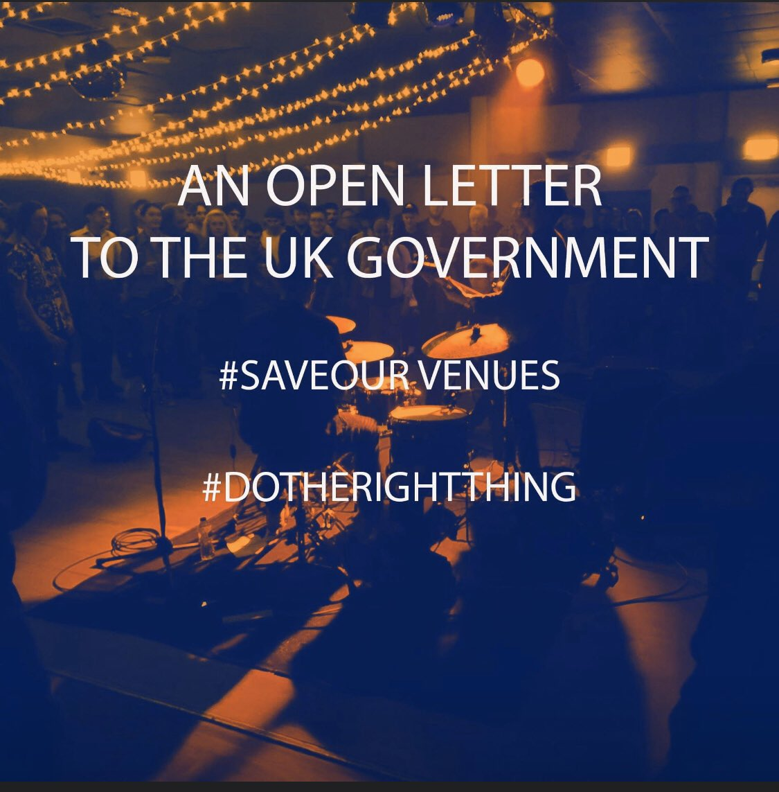 I understand you've been called to speak in tomorrow's debate @CarolineLucas - we desperately need you to speak up for a sector specific deal for grassroots music venues to prevent hundreds of permanent closures #saveourvenues