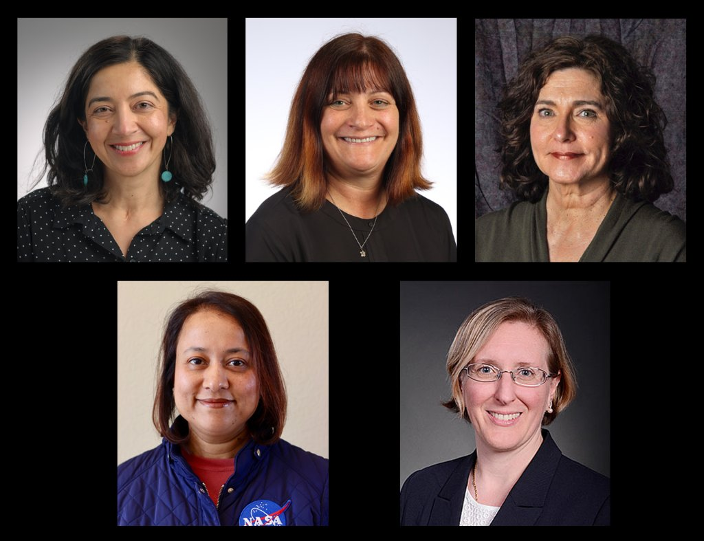 Our leadership team includes five accomplished women making waves in space science and engineering. Each brings different backgrounds and perspectives to making this complex international science experiment a success. Learn about their careers: go.nasa.gov/2Nu1fXk