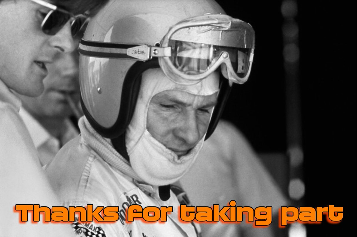 GIVEAWAY RESULTS  Recipients of the Bruce McLaren badges are:  @Ian_H_007  @Paul_Dunk  @kazsmithF1  @BonzoKEN  @LMishik   Please DM me your address and I'll get them out within the next week.   If you weren't selected this time, there will be other opportunities. https://t.co/70qYZuQYgz