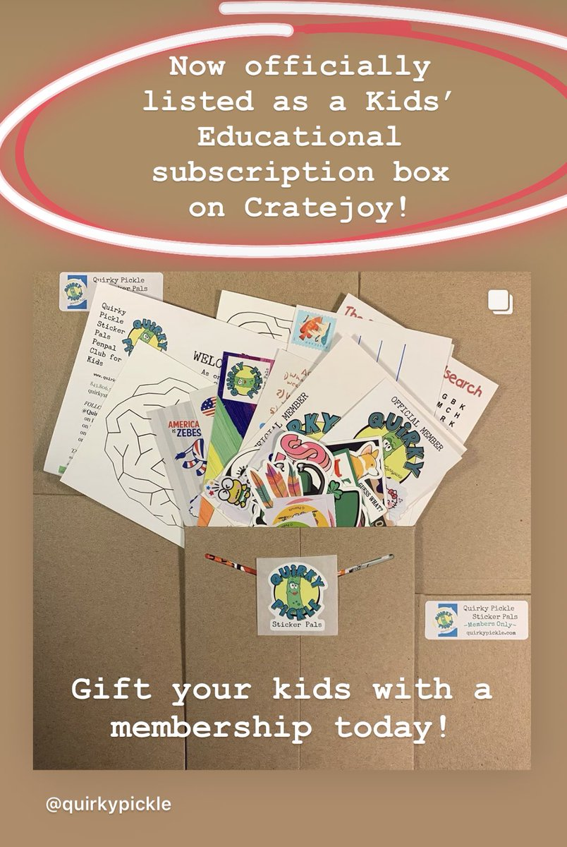 We are looking to expand to more areas and are perfect for kids ages 4-16!  Sign your kids up and see where their new penpal will be located! #penpals #kidsathome #kidsofinstagram #parents #dadswithdaughters #dadblogger #momblogger #momswithcameras #stickerlove pic.twitter.com/1edJHegMO6