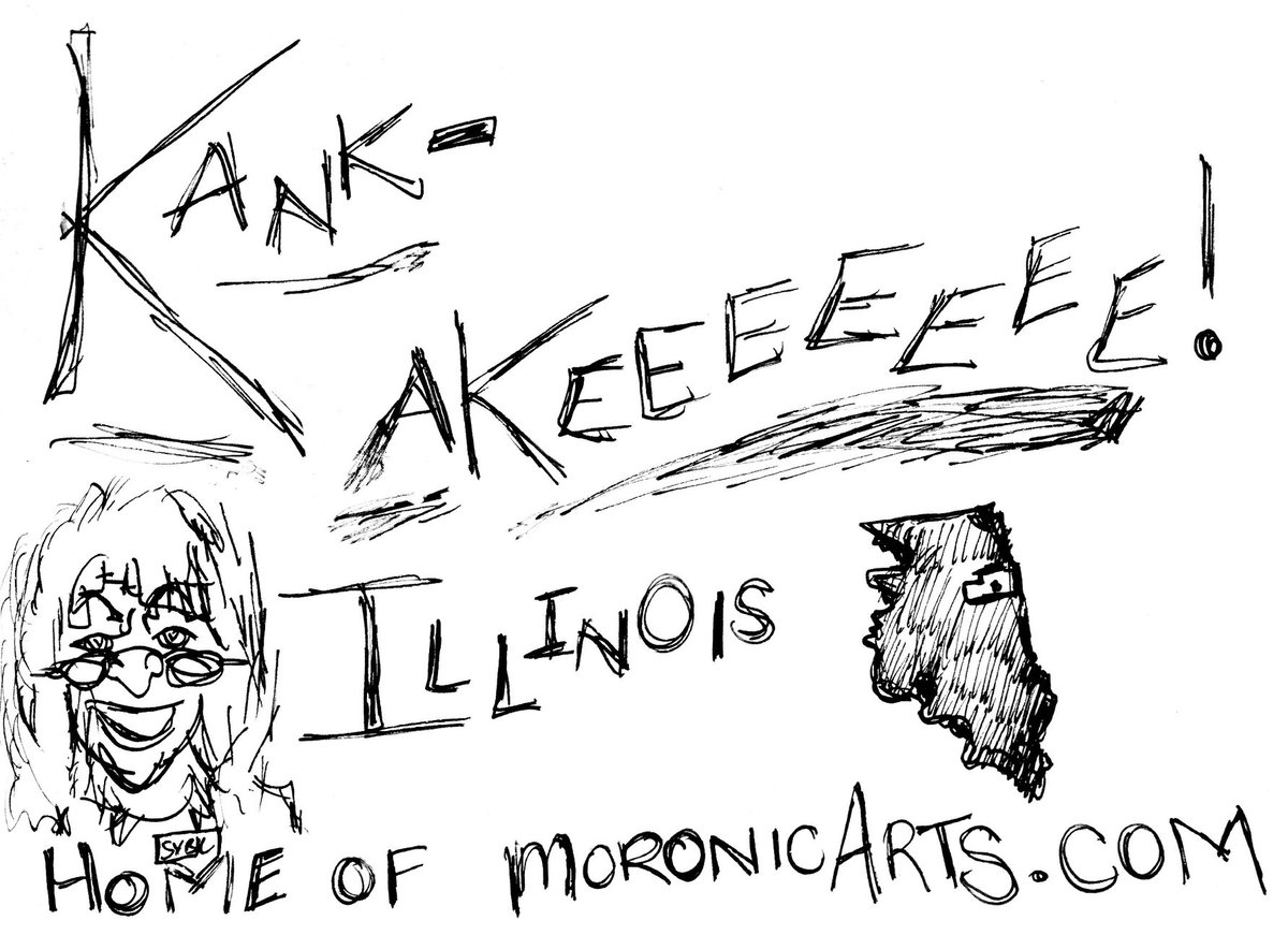 @LCMcCaskill I would love it if you joined me over at MoronicArts.com, the home of Kankakees Sybil Kibble. She loves mumble rap, Live, Laugh, Love decor and eating dog food. I would love it even more if you became a regular, signing up via your email or Wordpress. :D