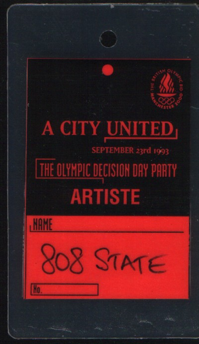 808 State On Twitter Timstwitterlisteningparty 808state Ex El Olympic Was Commissioned By Mancitycouncil In 1990 For The City S Bid For The Year 2000 Olympics Manchester Lost The Bid At The First Open Air