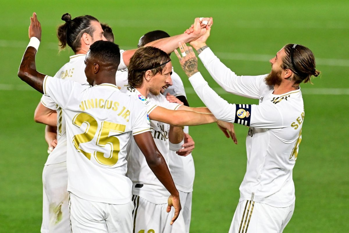 Xem lại Real Madrid vs Mallorca, La Liga – 25/06/2020