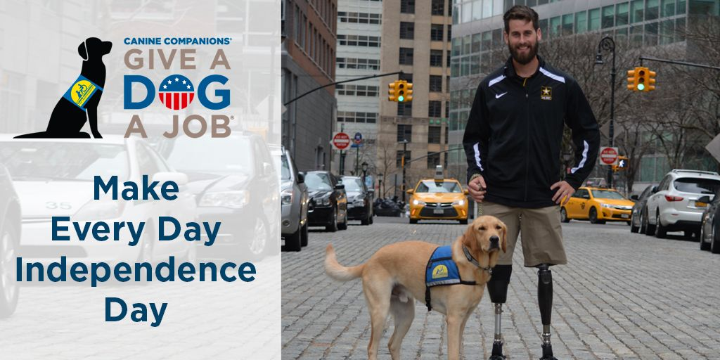 For 45 years, @ccicanine assistance dogs have been increasing independence for veterans, adults and children with disabilities, FREE of charge. https://t.co/5wQLLXZqn4
