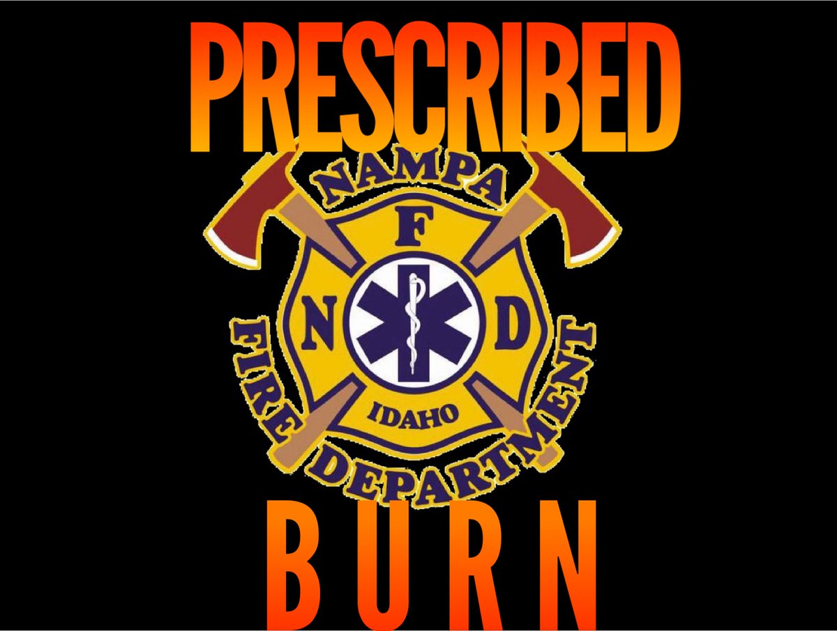 Tomorrow at 7AM, our friends at @NampaFD are going to do a prescribed (controlled) burn south of Nampa off Bennett Road, East of Hwy 45. They'll be burning grass/brush/weeds near the shooting range. https://t.co/EEBTkmsEig