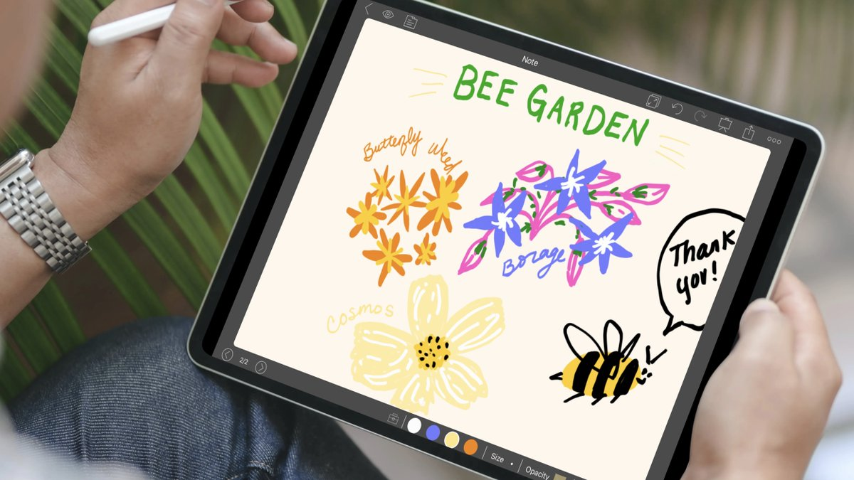 What kinds of flowers do bees like? Draw them with our pens tools!   Take notes on this at http://bit.ly/NoteLedgeTwitter …. #notetips #studyspo pic.twitter.com/Np39Xwwwe8