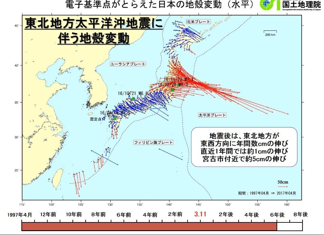 大震災 余震 東日本