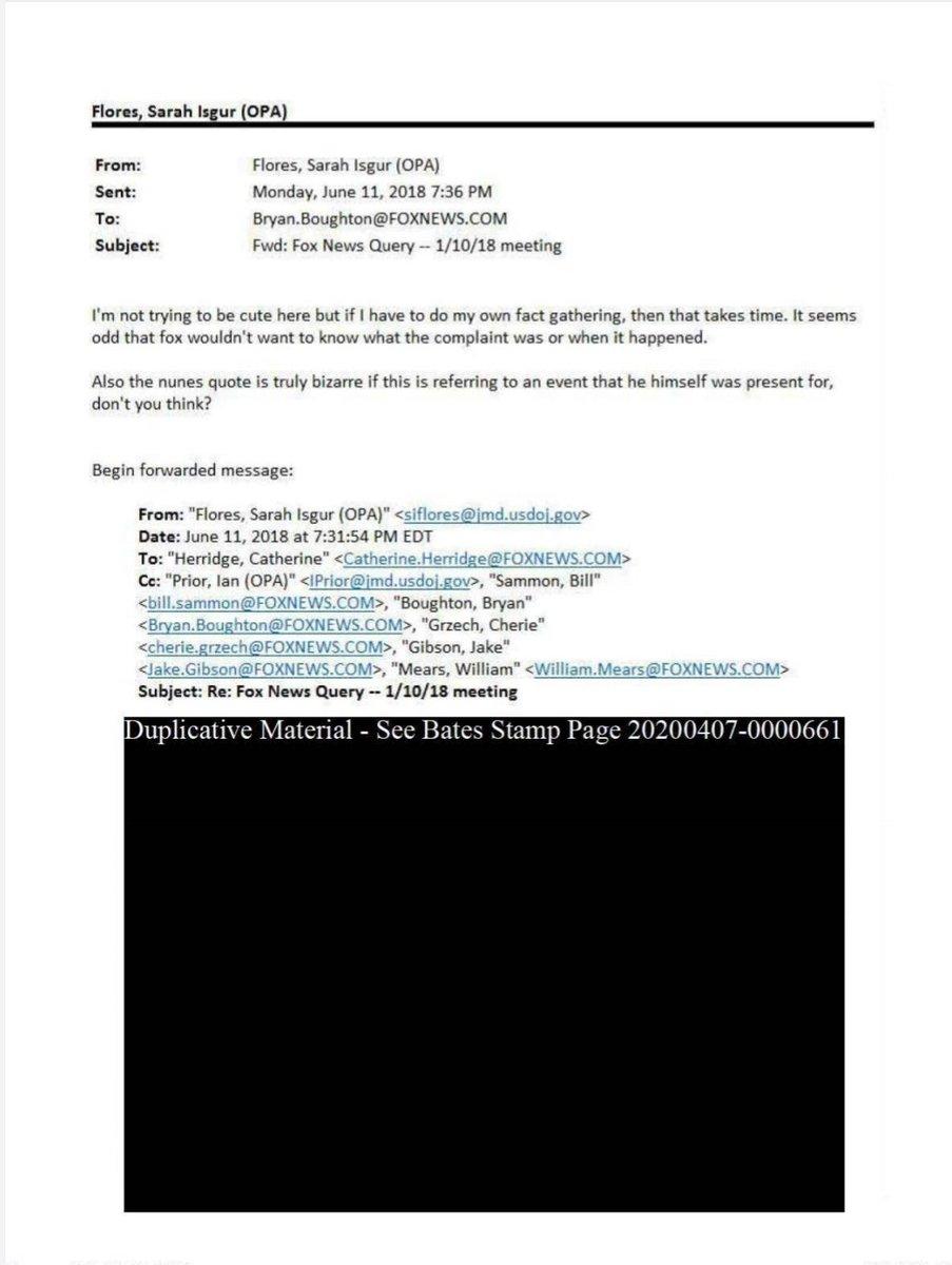 Jason Leopold On Twitter New 500 Pages Of Docs Between Doj Public Affairs And Fox News Reporters Producers Foia Https T Co Ynke0pv2ps Https T Co S0bmysj6fp Https T Co Im86ivmw3o Https T Co Hudewotysj