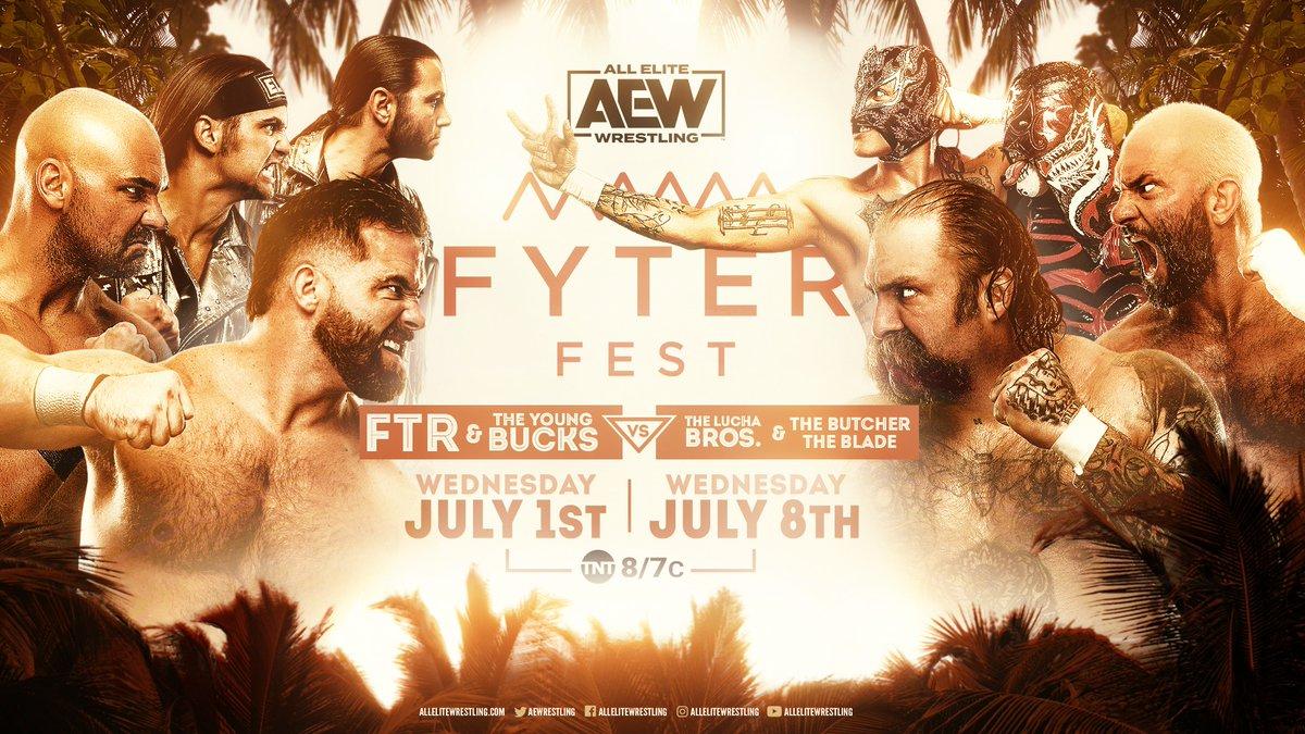 8-Man Tag Match Announced For AEW Fyter Fest, Pentagon Jr. Returns