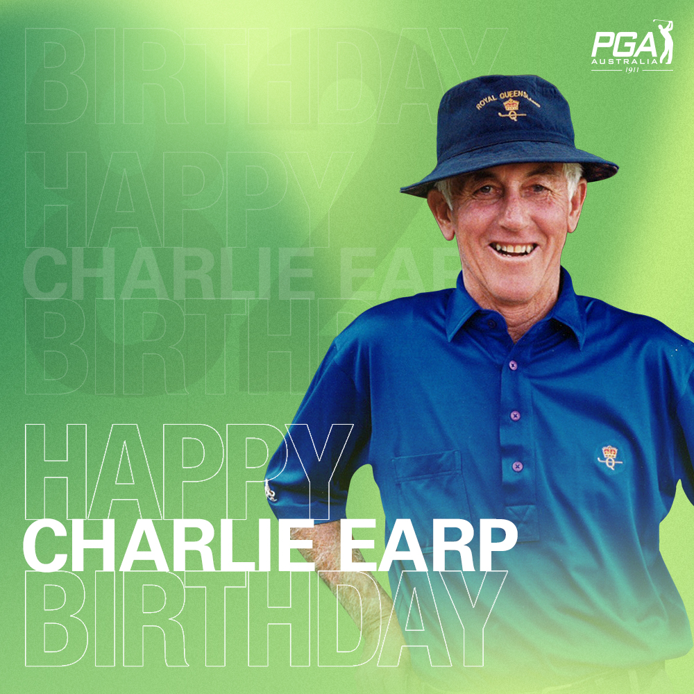 Wishing PGA Immortal Charlie Earp OAM a very happy birthday today 🎂🎉🏌️‍♂️🎁  #PGAProud https://t.co/bZwmTT8p6g
