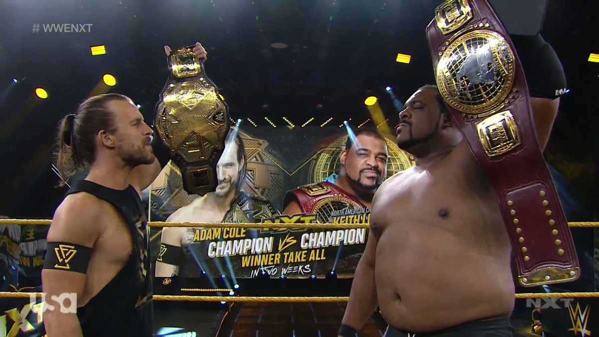 """Keith Lee Vs. Adam Cole """"Winner Takes All"""" Match Announced For Upcoming WWE NXT Episode"""