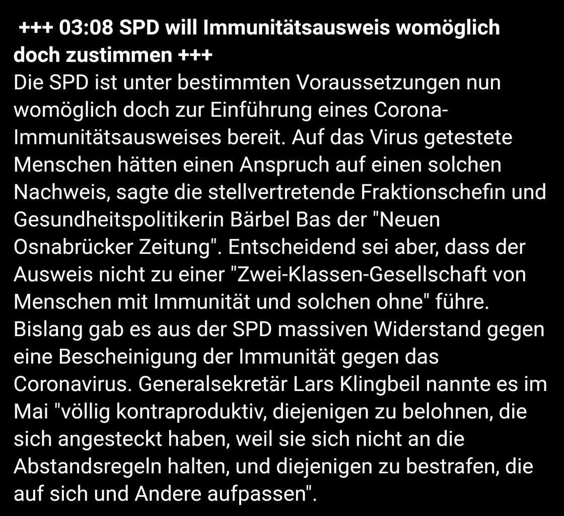 immunitätsausweis