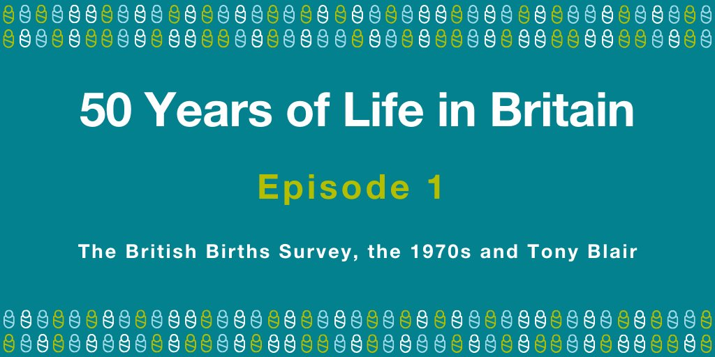 Ep. 1 of our new podcast series '50 Years of Life in Britain' is out! Ft. Jean Golding, @LeonFeinstein @Lem_Exeter & study members #BCS7050stories 🎧 Tune in to celebrate 50 yrs of #BCS70 & explore its contribution to improving British science & society:  https://t.co/OjWlZVNrCj https://t.co/VUYzEjH0ym