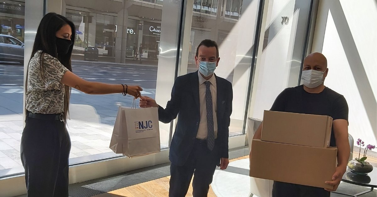 Well done to our Business Support team for sourcing disinfectant wipes for another NJC donation to @PassageCharity. The wipes will help employees and volunteers keep their working areas clean, whilst they continue to support the homeless #njcdna #charity