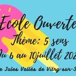 Image for the Tweet beginning: Ouverture des inscriptions pour l'école