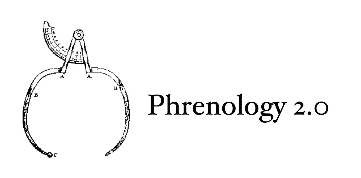 We've written several times about what we describe as Phrenology 2.0 — the attempt to rehabilitate long-discredited pseudoscientific ideas linking physiognomy to moral character — using the trappings of machine learning and artificial intelligence. https://t.co/SG4zFPWi2d