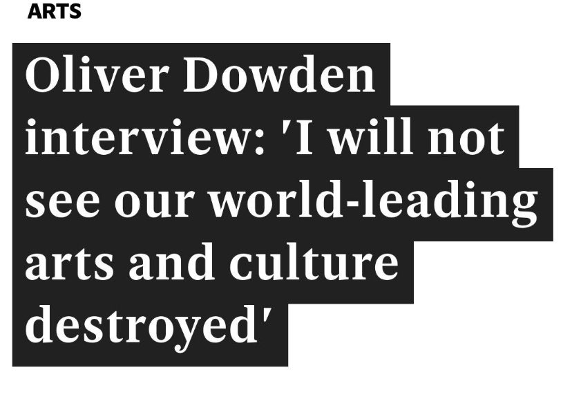 Then stop watching it happen. You're the Minister of State for Culture. @OliverDowden https://t.co/zOm7Zi1aLB
