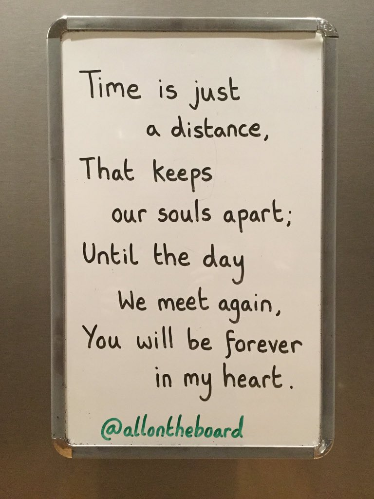 To our loved ones who are no longer with us on Earth. Until the day we meet again, you will always be missed, never forgotten and forever loved. @allontheboard
