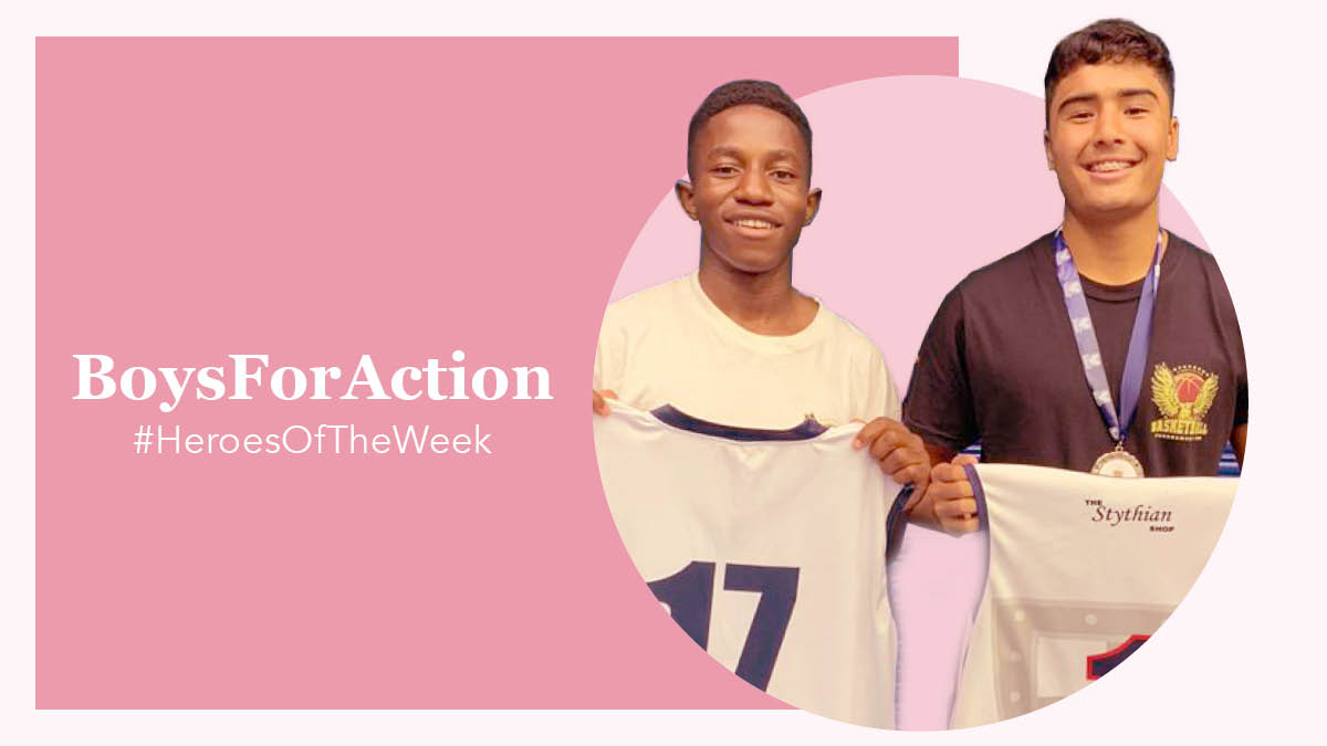 Educating boys is crucial in the fight against woman abuse. That's why we applaud BoysForAction, a group of high school leaders creating awareness and raising funds to curb the scourge. Nominate someone in your life who inspires you & they could be featured next! https://t.co/s3VEihkbrF