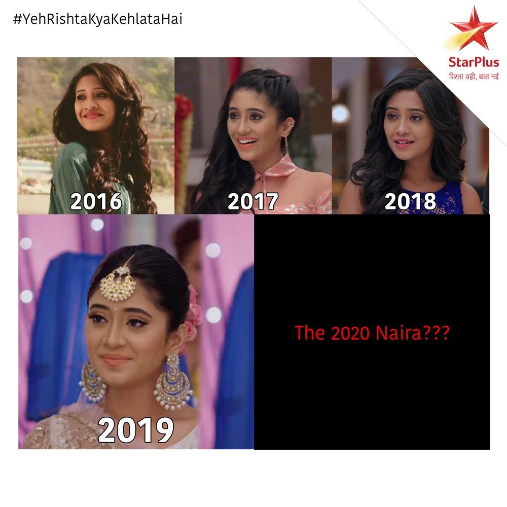The 2020 Naira??? #YehRishtaKyaKehlataHai @shivangijoshi10